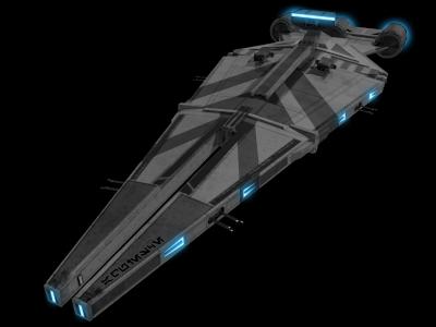 Arquitens Class Light Cruiser Frigates Star Wars Combine